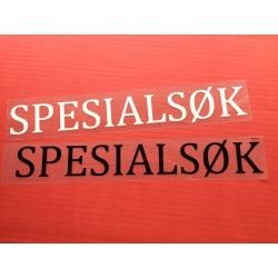Merke - SPESIALSØK